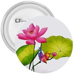 Lillies 3  Button