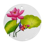 Lillies Ornament (Round)