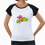 Lillies Women s Cap Sleeve T