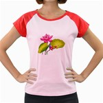 Lillies Women s Cap Sleeve T-Shirt