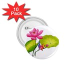 Lillies 1.75  Button (10 pack)