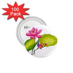 Lillies 1.75  Button (100 pack)