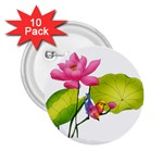 Lillies 2.25  Button (10 pack)