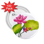 Lillies 2.25  Button (100 pack)
