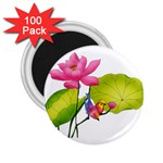 Lillies 2.25  Magnet (100 pack)