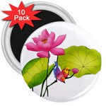 Lillies 3  Magnet (10 pack)