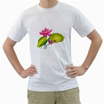 Lillies White T-Shirt