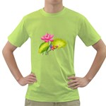 Lillies Green T-Shirt