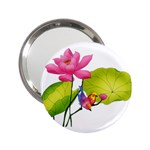 Lillies 2.25  Handbag Mirror