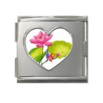 Lillies Mega Link Heart Italian Charm (18mm)