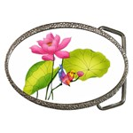 Lillies Belt Buckle
