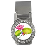 Lillies Money Clip (CZ)