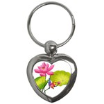 Lillies Key Chain (Heart)