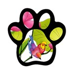 Lillies Magnet (Paw Print)