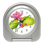 Lillies Travel Alarm Clock