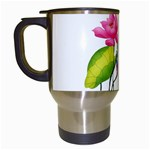 Lillies Travel Mug (White)