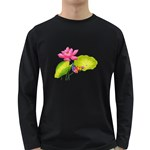 Lillies Long Sleeve Dark T-Shirt
