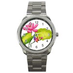 Lillies Sport Metal Watch