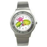 Lillies Stainless Steel Watch