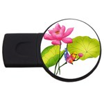 Lillies USB Flash Drive Round (4 GB)
