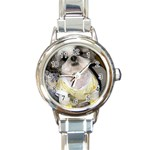 So Ducky Round Italian Charm Watch