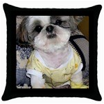So Ducky Throw Pillow Case (Black)