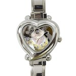 So Ducky Heart Italian Charm Watch