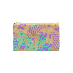 Tropical Summer Fruit Orange Lime Berry Cosmetic Bag (xs) by CrypticFragmentsColors