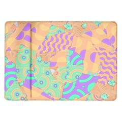 Tropical Summer Fruit Orange Lime Berry Samsung Galaxy Tab 10 1  P7500 Flip Case by CrypticFragmentsColors