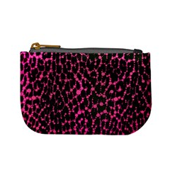 Hot Pink Leopard Print  Coin Change Purse by OCDesignss