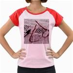 Crossword Genius Women s Cap Sleeve T-Shirt (Colored)