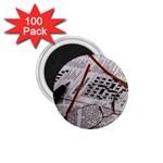 Crossword Genius 1.75  Button Magnet (100 pack)