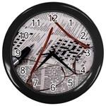 Crossword Genius Wall Clock (Black)