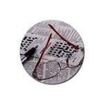 Crossword Genius Drink Coaster (Round)