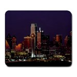 Dallas Skyline At Night Large Mouse Pad (Rectangle)