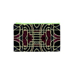 Tribal Style Ornate Grunge Pattern  Cosmetic Bag (xs) by dflcprints