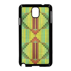 Tribal Shapes Samsung Galaxy Note 3 Neo Hardshell Case (black) by LalyLauraFLM