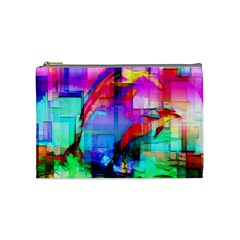 Tim Henderson Dolphins Cosmetic Bag (medium) by TheWowFactor