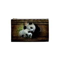 Panda Love Cosmetic Bag (small) by TheWowFactor