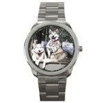 Huskies Sport Metal Watch