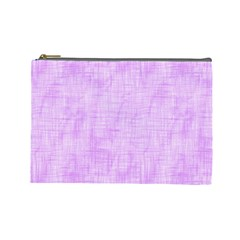 Hidden Pain In Purple Cosmetic Bag (large) by FunWithFibro