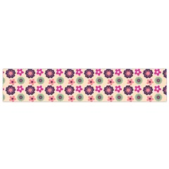 Cute Floral Pattern Flano Scarf (small) by creativemom