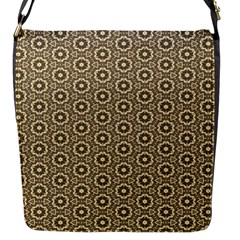 Cute Pretty Elegant Pattern Flap Closure Messenger Bag (small) by creativemom