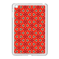 Cute Pretty Elegant Pattern Apple Ipad Mini Case (white) by creativemom