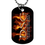 David Shankle 2 Sided Dog Tag and Chain 3