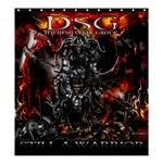 DSG Still a Warrior Shower Curtain Shower Curtain 66 x 72