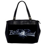 Black Diamond Oversize Office Handbag
