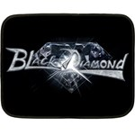 Black Diamond Double Sided Fleece Blanket