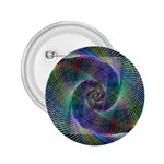Psychedelic Spiral 2.25  Button