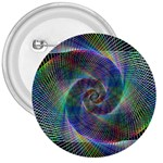 Psychedelic Spiral 3  Button